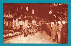 Nostalgia Postcard Smithfield Market, London c1912 Reproduction Card NS32