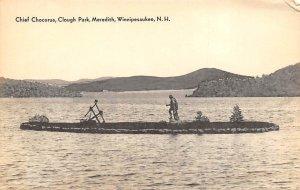 Chief Chocorua, Clough Park Meredith, Winnipesaukee, New Hampshire, USA India...