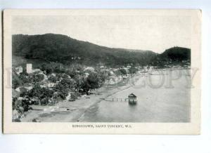 144596 SAINT VINCENT KINGSTOWN West Indien Vintage postcard