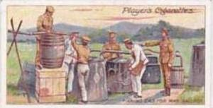 Player & Sons Vintage Cigarette Card Army Life No 19 Making Gas For War Ballo...