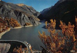 France Oisans Barrage du Chambon et la Meije depuis Deux Alpes Postcard