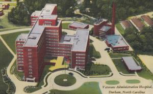 DURHAM , North Carolina , 30-40s ; V.A. Hospital