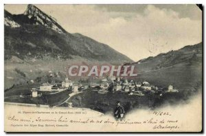 Old Postcard St Pierre de Chartreuse and Grand Som