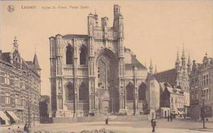 Belgium Louvain Eglise St Pierre Portail Quest