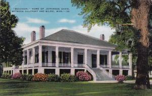 Mississippi Gulfport Beauvoir Home Of Jerfferson Davis Between Gulfport And B...