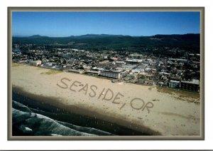 Oregon Seaside Aerial View