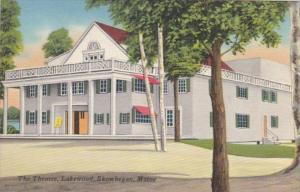 Maine Skowhegan The Theatre At Lakewood
