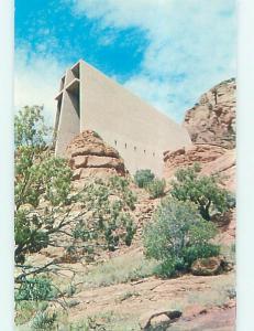 Unused Pre-1980 CHURCH SCENE Sedona Arizona AZ L4063