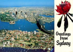 Australia - Sydney. Aerial View