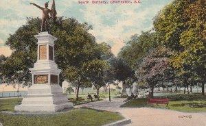 CHARLESTON, South Carolina, PU-1913; South Battery