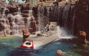 Submarine Falls Disneyland Anahem California