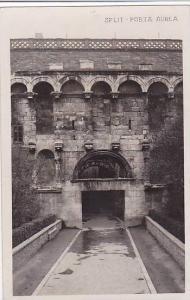 RP; Palace , SPLIT , Croatia, 20-40s ; Porta Aurea