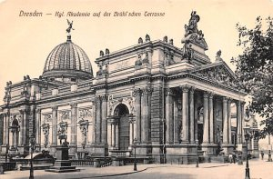 Kgl Akademie guf der Bruhl schen Terrasse Dresden Germany Unused
