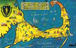 Map Of Cape Cod Massachusetts