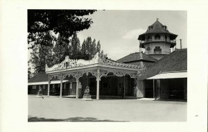 indonesia, JAVA SURAKARTA SOLO, Sunan Kraton Palace (1920s) RPPC Postcard