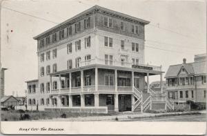 The Raleigh Ocean City NJ New Jersey c1907 Postcard E41