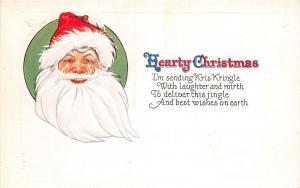 E55/ Santa Claus Merry Christmas Postcard C11 c1910 Smile Hearty 3