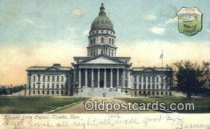 Topeka, Kansas, KS  State Capital, Capitals Postcard Post Card USA  Topeka, K...