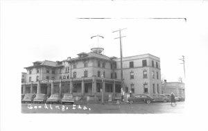 F41/ Gooding Idaho RPPC Postcard c1950s Lincoln Inn Hotel