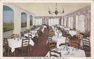PRINCETON, New Jersey, 1910-1920s; Terrace Dining Room, Princeton Inn