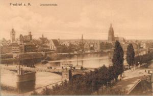 Germany Frankfurt a. M. Untermainbrücke 02.60