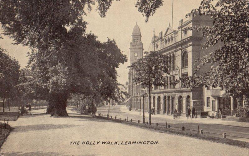 LEAMINGTON, Warwickshire, England, 1900-1910's; The Holly Walk