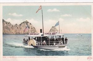 California Santa Catalina Island Glass Bottom Boat Cleopatra Detroit Publishing
