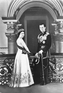 Queen Elizabeth II - real photo
