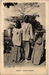 CPA Senegal-Dakar-Jeunes indigénes (235497)