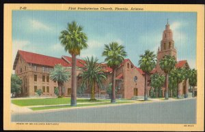 Arizona ~ PHOENIX First Presbyterian Church  LINEN