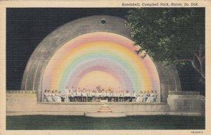 HURON , South Dakota, 1930-40s; Bandshell, Campbell Park