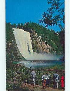 Unused Pre-1980 TOWN VIEW Montmorency Falls - Beauport - Quebec City QC p8983-12