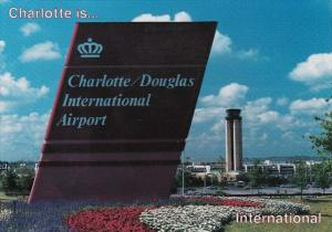 North Carolina Charlotte Welcome Sign Charlotte/Douglas International Airport