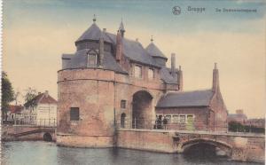 BRUGGE, West Flanders, Belgium, 1900-1910's; De Oostendschepoort