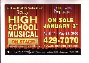 Disney's High School Musical, Neptune Theatre, Halifax, Nova Scotia