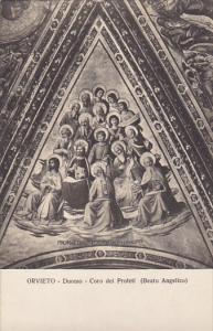 Italy Orvieto Duomo Coro del Profeti Beato Angelico