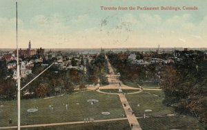 TORONTO , Ontario , Canada , 00-10s ; View from Parliament Buildings