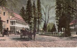 Sentinel Hotel, Yosemite, 1920