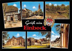 Einbeck multiviews Rathaus und Marktkirche Alte Stadtmauer Brodhaus