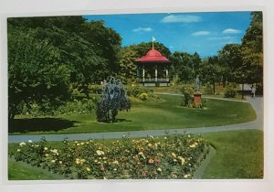 Vintage Postcard:Public Gardens of Halifax, Nova Scotia, CAN