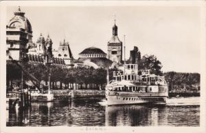 RP: Évian-les-Bains , France , 1930s ; Steamship