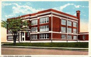 Kansas Fort Scott High School 1927 Curteich