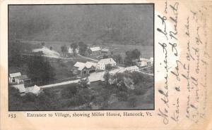 19637 Aerial View of Hancock Village VT