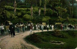indonesia, SUMATRA, Traveling (1910s) Mission Postcard