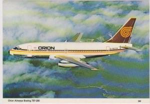 Orion Airways Boeing 737-200 G-BGTW in Flight