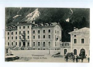 246783 SWITZERLAND VICOSOPRANO Hotel Helvetia & post office