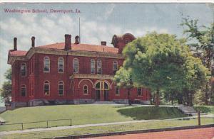Washington School, DAVENPORT, Iowa, PU-1916