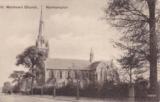 St. Matthew's Church, Northampton, England, UK, 1900-1910s