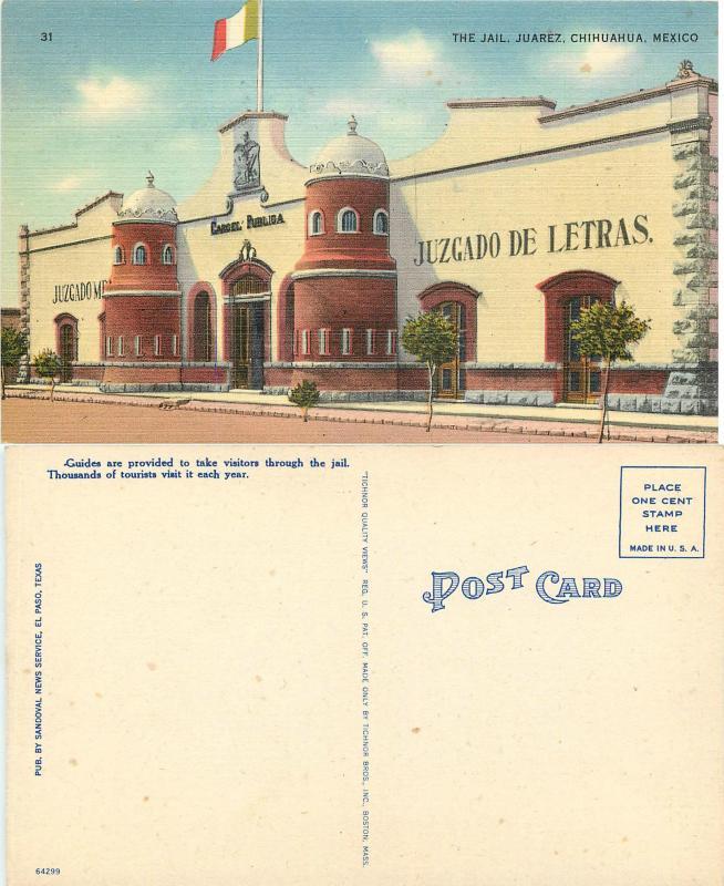 The Jail Juarez Chihuahua Mexico, Linen