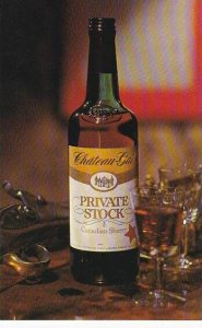 Advertising Chateau Gai Wines Canada Private Stock Canadian Sherry